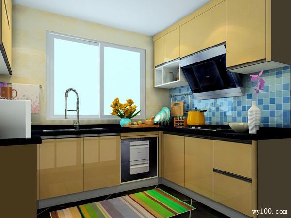 开放式厨房 经典又实用_维意定制家具商城