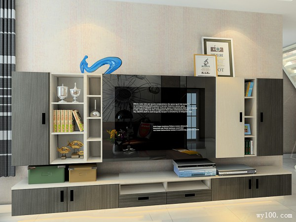 61�O特别搭配客餐厅设计效果图_维意定制家具商城