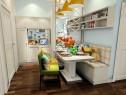 现代客餐厅效果图 青葱岁月_维意定制家具商城