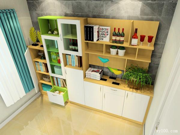 餐边柜组合客餐厅 7平收放自如_维意定制家具商城