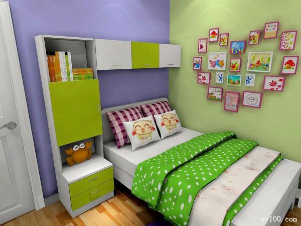 儿童房家装效果图 让孩子赢在起跑线上_维意定制家具商城