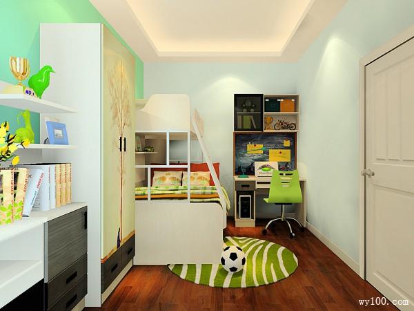 欧式装饰柜儿童房装修效果图