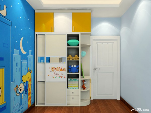 上下床儿童房设计 空间合理布局利用_维意定制家具商城