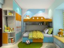 上下床儿童房榻榻米设计 8平增加储物功能_维意定制家具商城