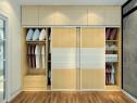 L型飘窗卧室效果图 14�O烘托了空间的时尚大气_维意定制家具商城