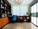 古典沙发书房效果图 11�O整体空间时尚大方_维意定制家具商城