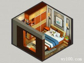14�O美观大方卧房效果图_维意定制家具商城