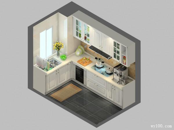 简约厨房 古典风设计融入住户要求_维意定制家具商城