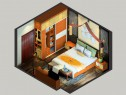 中式卧室效果图 15�O卧室设计_维意定制家具商城