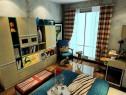 怀旧风儿童房 搭配沉稳雅致色调更赋成熟感_维意定制家具商城