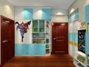 简约现代儿童房 柜体合理利用增加储物功能_维意定制家具商城