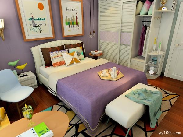 欧式书桌儿童房装修效果图