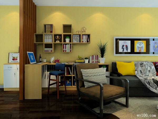 25�O素雅沉静客餐厅设计效果图_维意定制家具商城