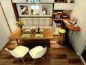 23�O卡座利用客餐厅设计效果图_维意定制家具商城