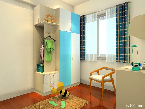 29�O组合儿童房设计效果图_维意定制家具商城