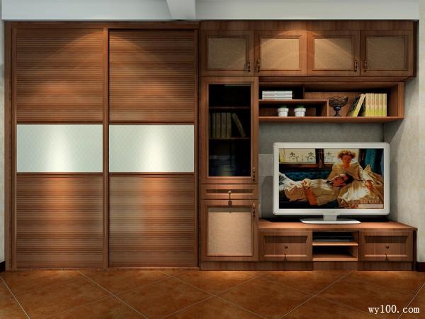 带飘窗卧室效果图 27�O异形空间_维意定制家具商城