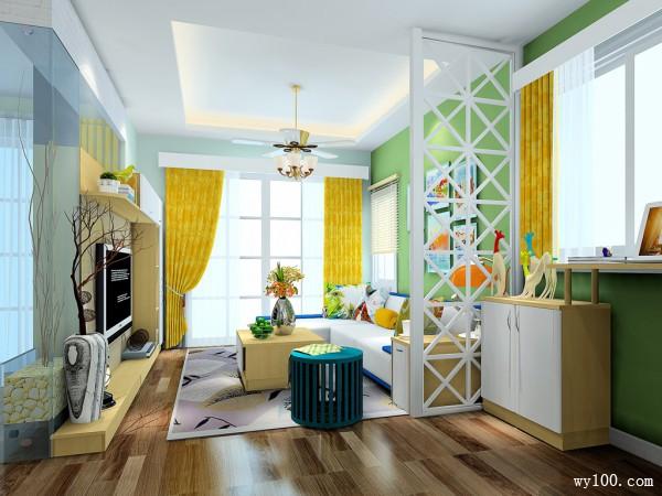 吧台设计客餐厅 带卡座的餐厅充满幸福感_维意定制家具商城