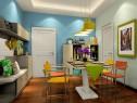 柜体的合理利用空间 飘窗客餐厅更显舒适自然_维意定制家具商城