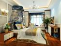 飘窗吊顶卧室效果图 15�O利用飘窗设置成休闲区_维意定制家具商城