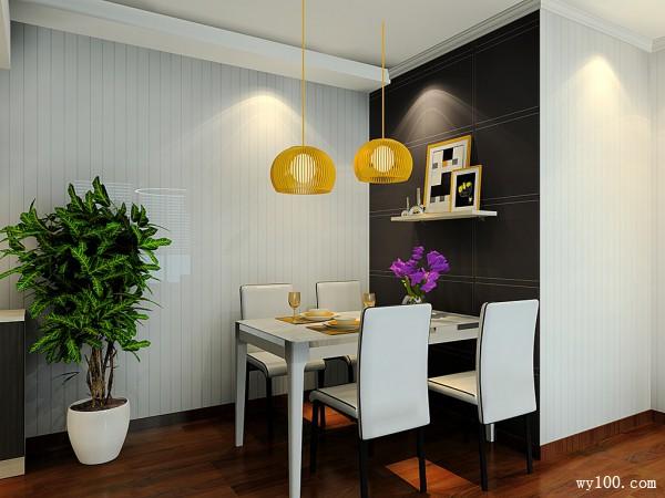 客餐厅装修效果图 19�O整体简约怀旧_维意定制家具商城
