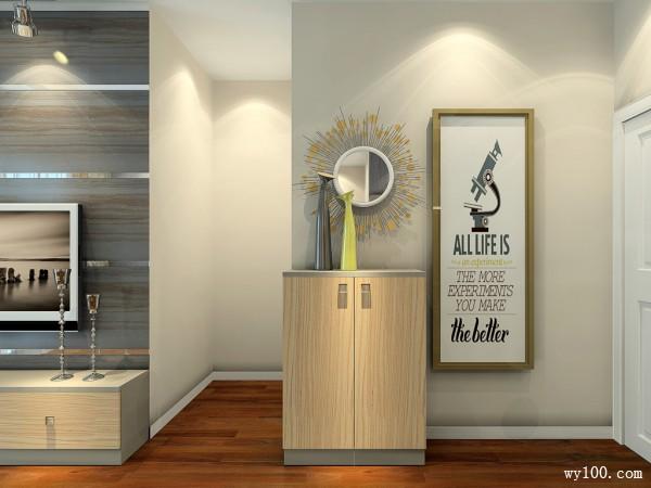 小户型客餐厅效果图 20�O给人一种舒适的感觉_维意定制家具商城