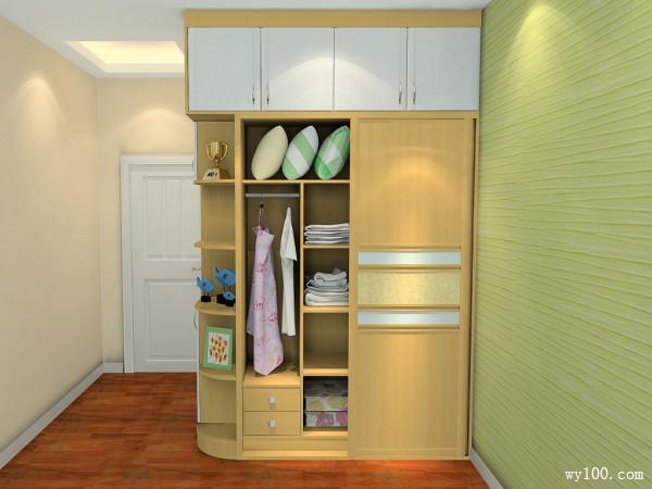 现代简约卧室 17平空间设计温馨大气_维意定制家具商城