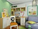 合理利用柜体 7平构造温馨简洁书房_维意定制家具商城