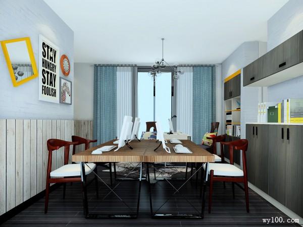 现代简约办公司 柜体设计方便使用_维意定制家具商城