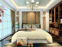 现代卧室装修效果图 独特背景墙凸显空间时尚、大气_维意定制家具商城