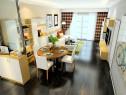玻璃隔断设计客餐厅 整个空间大方实用_维意定制家具商城