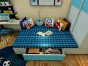 儿童房装修效果图 12�O清爽舒适的居住空间_维意定制家具商城