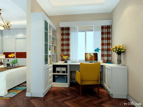 简欧卧室效果图 26平软装搭配低调侈华_维意定制家具商城