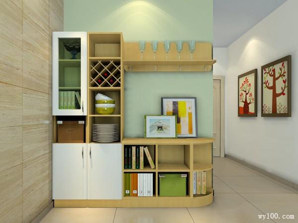 多功能柜体组合 15平使整体空间简约自然_维意定制家具商城