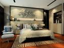 现代卧室效果图 背景墙设计让整体更加高档时尚_维意定制家具商城