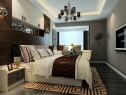 背景墙和顶柜的搭配卧室 整体空间大气时尚_维意定制家具商城
