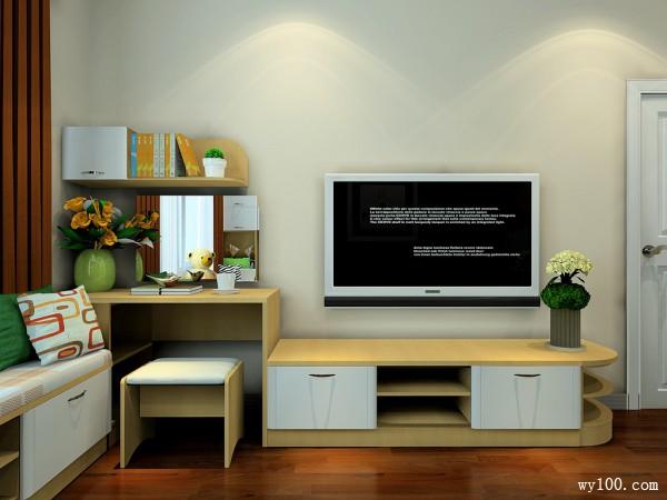 现代简洁的新实用主义风格卧室_维意定制家具商城