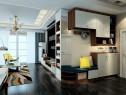 柜体组合客餐厅 自然感与未来感的时尚碰撞_维意定制家具商城