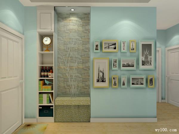 田园客餐厅设计 清新色系搭配充满活跃气息_维意定制家具商城