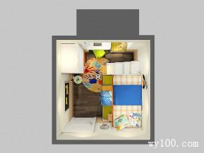 飘窗榻榻米儿童房 8�O楼梯柜的上下床_维意定制家具商城