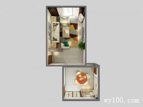 现代简约客餐厅一体效果图 32�O给人自然的感觉_维意定制家具商城