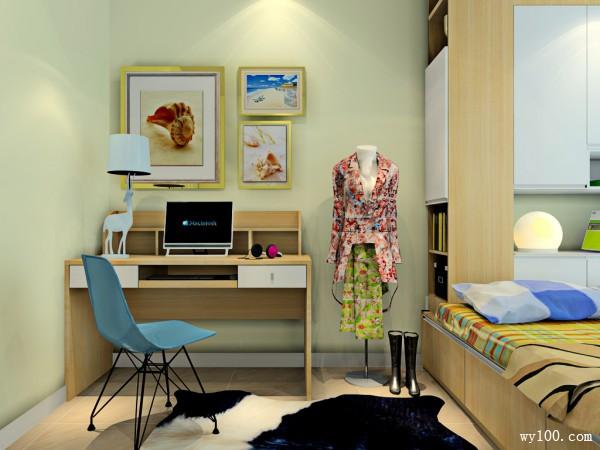 卧室榻榻米效果图 12�O时尚简约,空间利用率大_维意定制家具商城