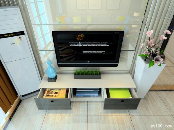 58�O软装饰品搭配客餐厅设计效果图_维意定制家具商城