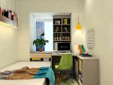 小书房装修效果图 6�O风格时尚简约_维意定制家具商城