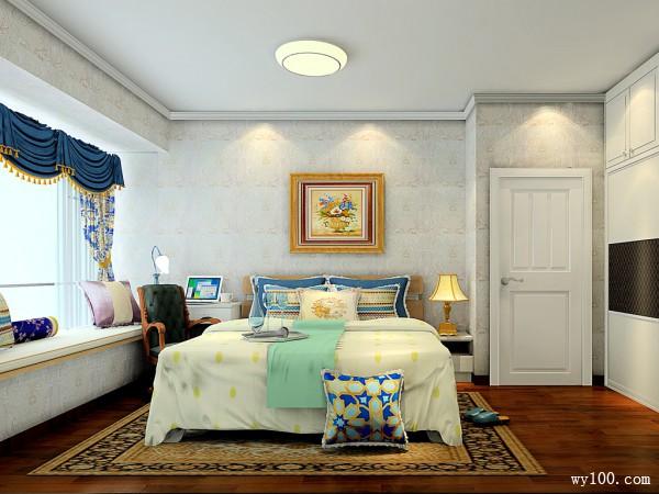 14�O趟门衣柜卧室设计效果图_维意定制家具商城