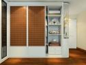 欧式卧室效果图 22�O黄色气派欧式设计_维意定制家具商城