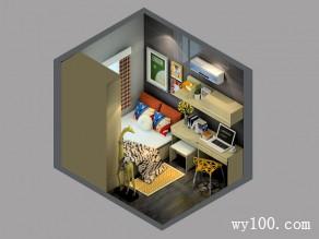 小书房榻榻米床效果图 7�O整体风格时尚简约_维意定制家具商城