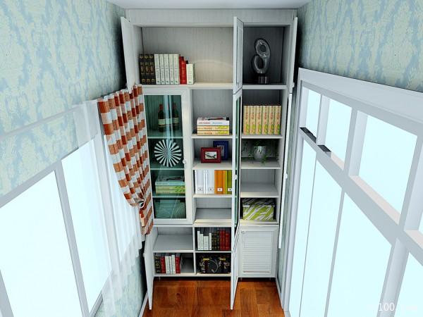 5�O一字型吊柜卧室设计效果图_维意定制家具商城