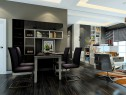 客餐厅装修效果图 67�O有效利用客厅宽度_维意定制家具商城