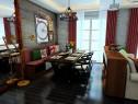 客餐厅装修效果图 46�O怀旧不失现代_维意定制家具商城