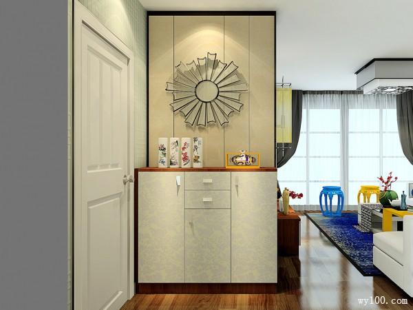 客餐厅手绘效果图 45�O现代中式客餐厅_维意定制家具商城